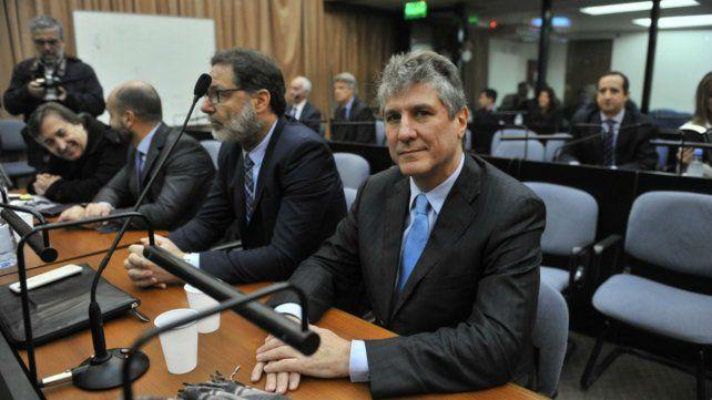 El exvicepresidente durante el juicio por la causa Ciccone.