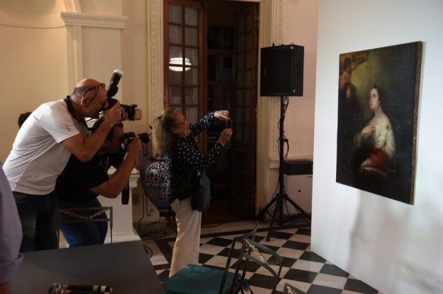 El cuadro de Murillo ya fue repuesto en el Museo Estévez