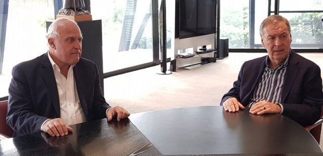 Lifschitz y Juan Schiaretti se reunieron en Córdoba para avanzar en proyectos comunes.