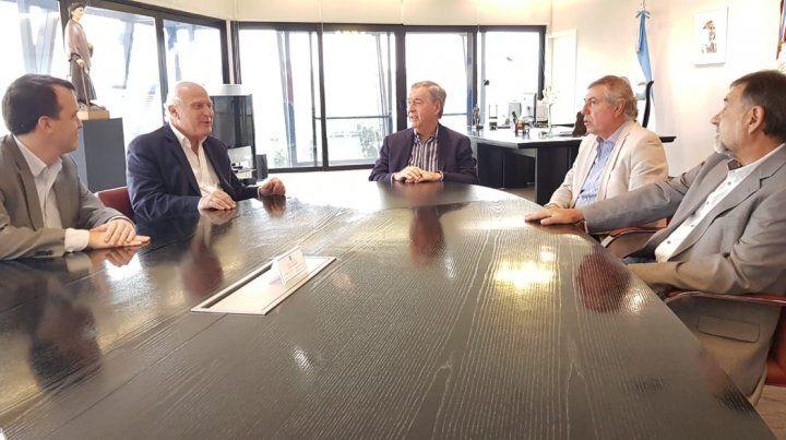 Lifschitz se reunió con el gobernador de Córdoba para analizar proyectos comunes