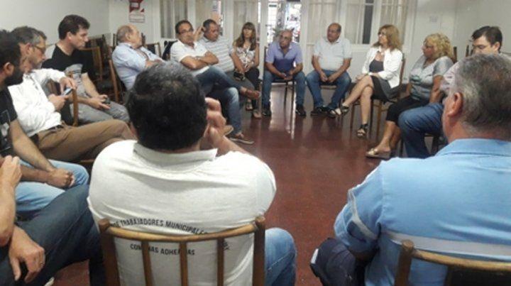 Respaldo. El Centro Económico comprometió su participación en una reunión realizada en su sede institucional.