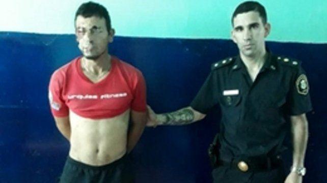 Detenido. El secuestrador de Kimey