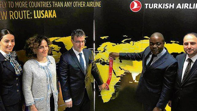 Turkish se expande en Africa