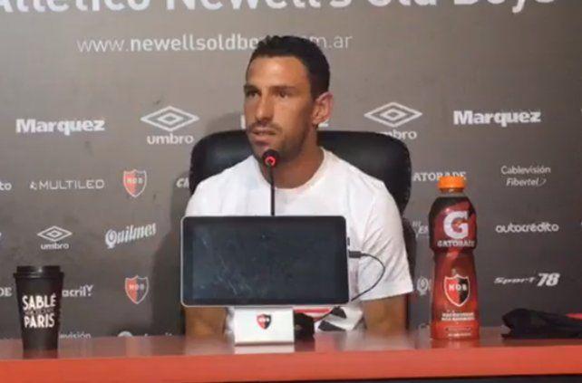 Maxi Rodríguez dijo que volvió porque Newell`s lo extrañaba y él extrañaba a Newell's.