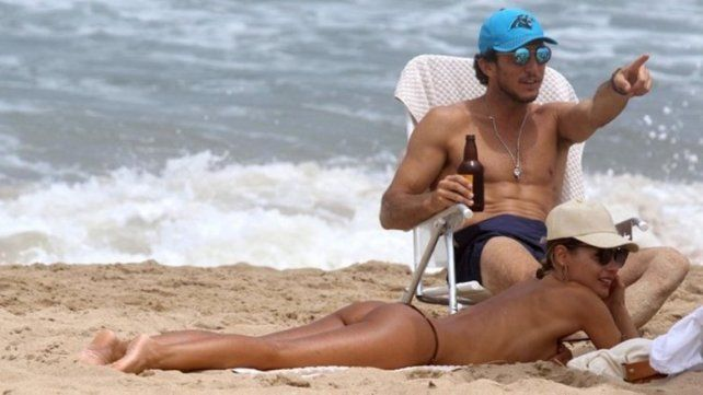 Pampita y Pico Mónaco, Sol y romance en las playas de Punta del Este