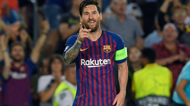 Messi terminó el 2018 como el máximo goleador del mundo