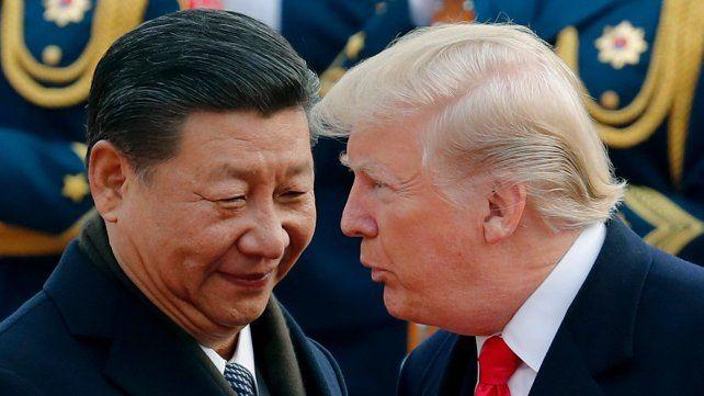 Enfrentados. La guerra comercial entre China y EEUU marcó la agenda global.