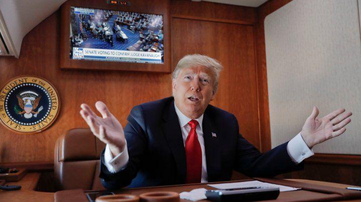 Espera. El mandatario estadounidense se ofreció a negociar con los representantes demócratas.