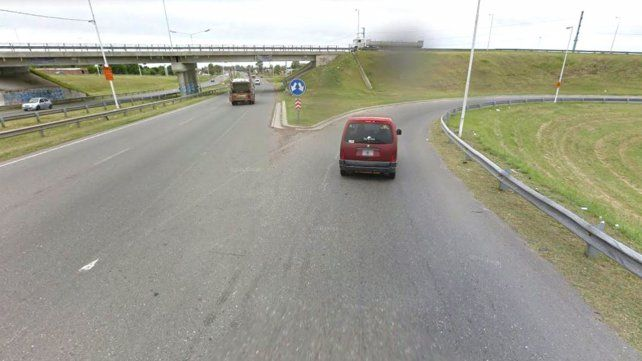 Zona de riesgo. Circunvalación y autopista a Buenos Aires