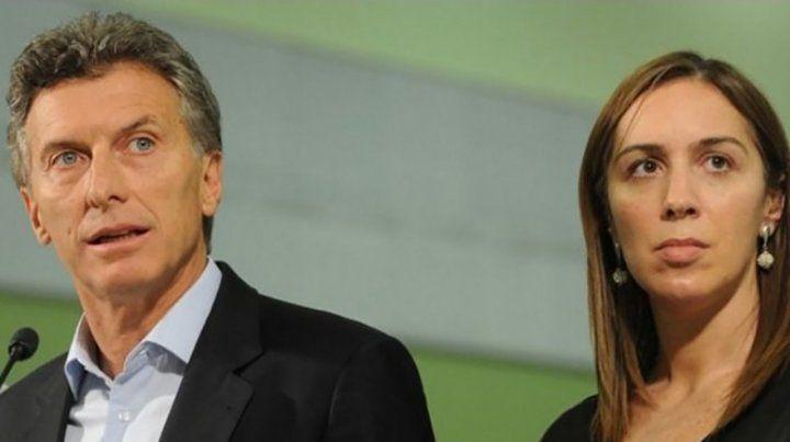 Tándem. Mauricio Macri y María Eugenia Vidal