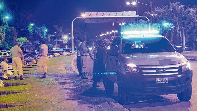 Acción preventiva. Los agentes estarán desplegados a lo largo de avenidas y también en cercanías de espacios públicos.