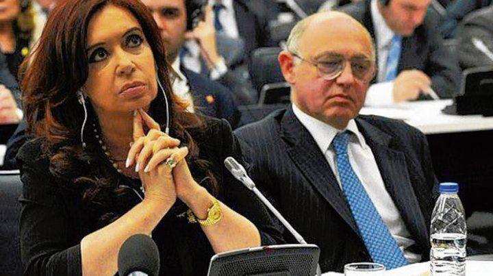 Recuerdo. Cristina posteó ayer una foto junto a Timerman en la ONU.