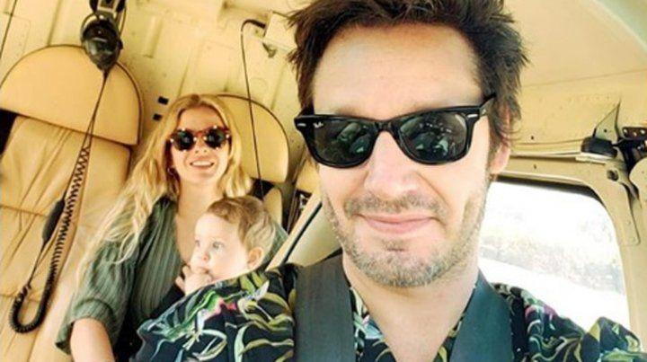 El vuelo del amor de La China Suárez, Vicuña y Magnolia rumbo a Chile