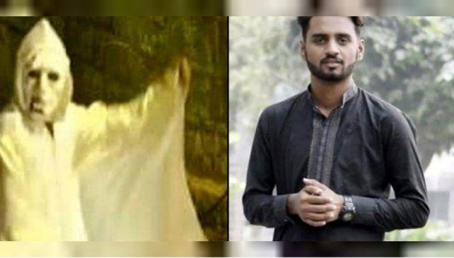 El youtuber Rana Zuhair quiso asustar a una familia vestido de fantasma y lo mataron a tiros.