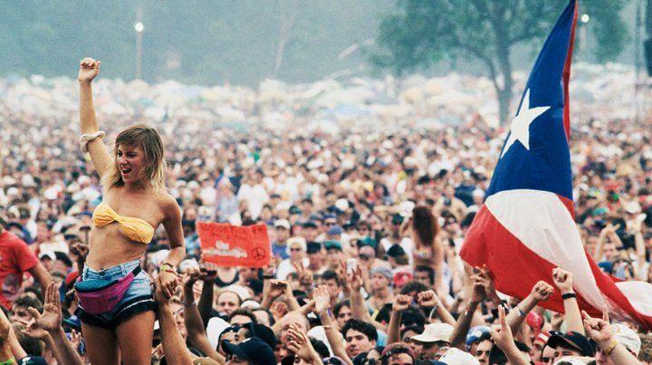 Paz y amor. Woodstock quiere reeditar el gran festival en su 50º aniversario.