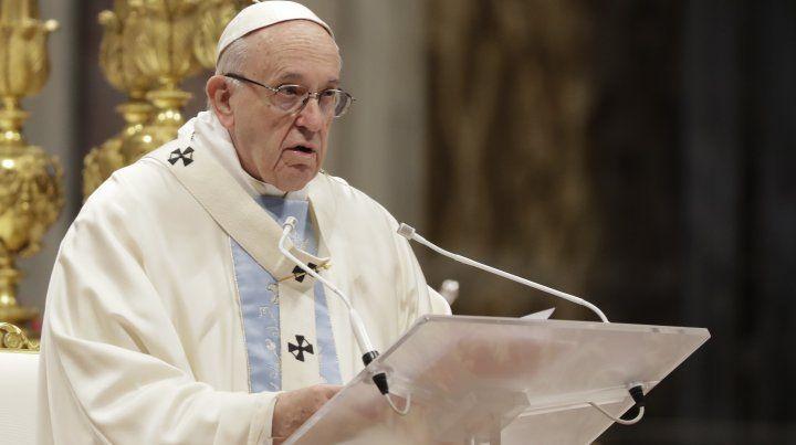 El papa Francisco inicia 2019 con una oda a la maternidad