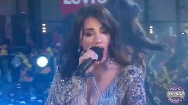 Lali Espósito despidió el 2018 con una actuación en Times Square
