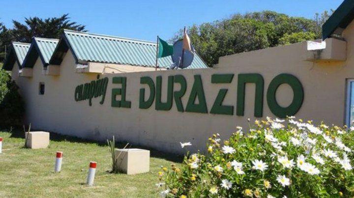 El hecho sucedió en el camping El durazno de Miramar.