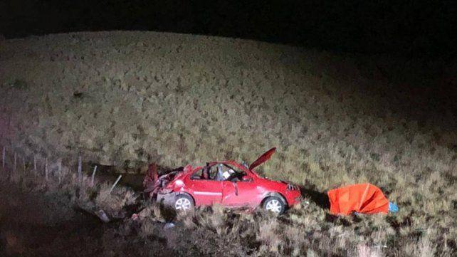 Tres argentinos murieron al volcar un auto en una ruta de Chile