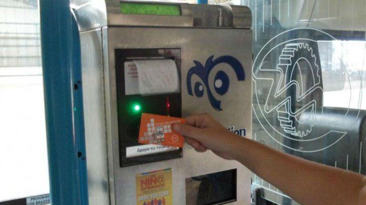 Las máquinas canceladoras de viajes no imprimen tickets.