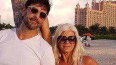 juan darthes y su esposa se mostraron en una playa de brasil