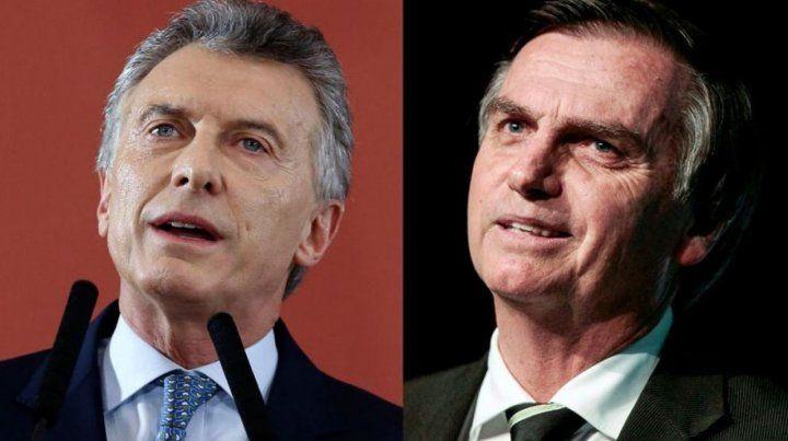 Macri y Bolsonaro tendrán su primera reunión bilateral el 16 de enero.