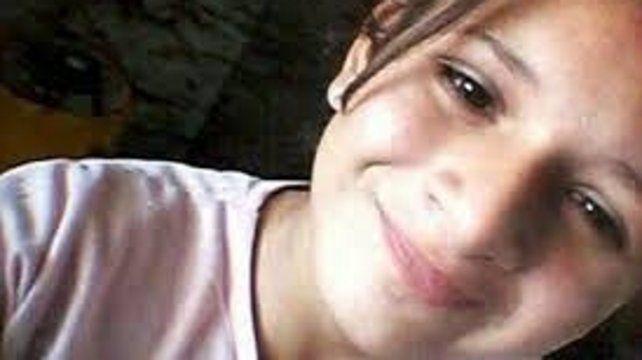 Angelina Ailén Cáceres. La adolescente de 13 años falta hace 10 días.