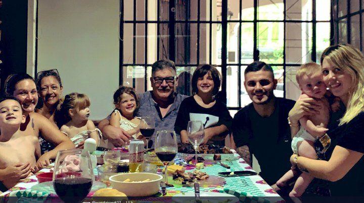 Wanda y Mauro Icardi visitaron Rosario en medio de un escándalo