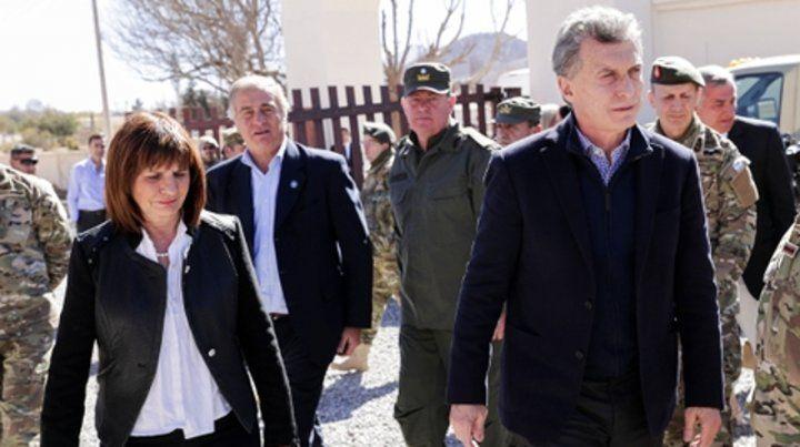 Vista derecha. El presidente Macri