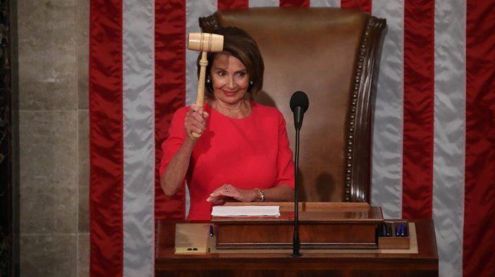 Elección de Nancy Pelosi en la Cámara Baja