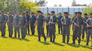 Listos. Los uniformados presentados en sociedad vienen con experiencia de otras unidades de la fuerza.