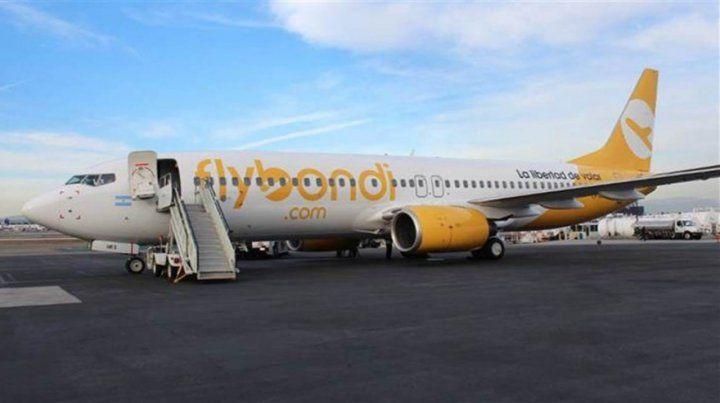 Los aviones de Flybondi comenzarán a operar en el primer trimestre desde Fisherton a tres destinos de cabotaje