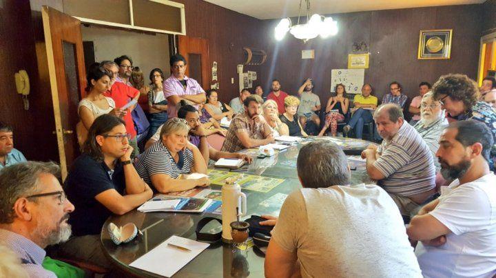 Todos juntos. Un amplio y diverso grupo de organizaciones se reunieron para convocar a la movilización.