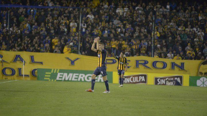 El capitán canalla Ruben decidió dejar Arroyito para mudarse a Brasil y jugar en Atlético Paranaense.