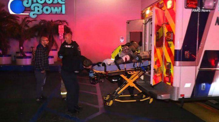 Heridos en el tiroteo en el bowling cerca de Los Angeles.