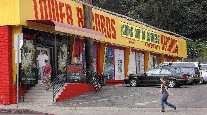 Tower Records, ascenso y caída del gigante de los discos
