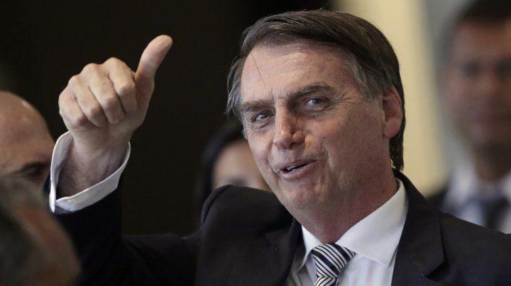 Giro político. El mandatario brasileño