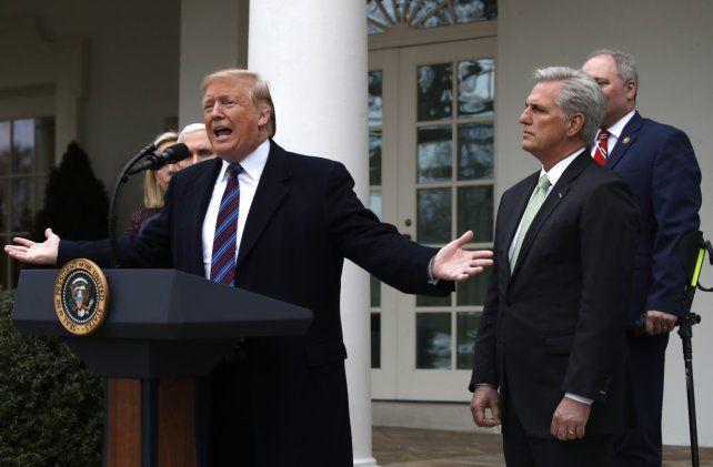Escaso diálogo. El presidente describió la actual parálisis que afecta a su gobierno como una huelga.