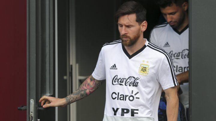 Lionel Messi no juega en la selección desde el Mundial de Rusia.