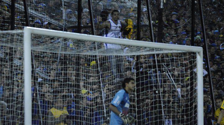 Mayo de 2013. Los hinchas de Boca dieron el presente en el partido ante Ñuls por Copa Libertadores.