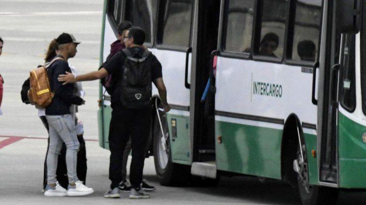Barrera llegó a Rosario