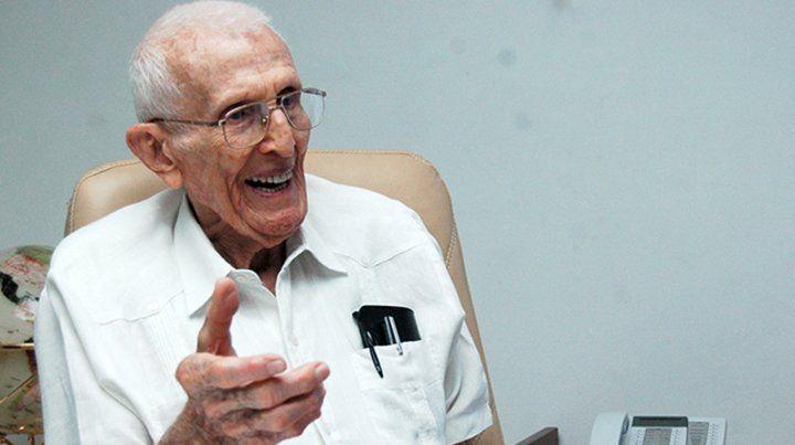 Murió El Gallego Fernández, mano derecha de Fidel y Raúl Castro