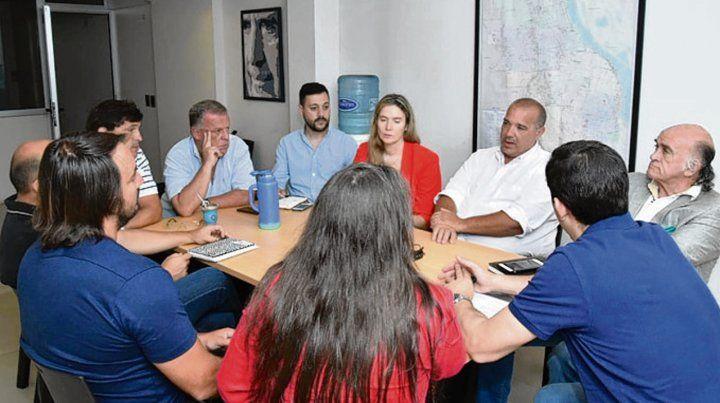 Dirigentes del radicalismo se reunieron días atrás en Rosario.