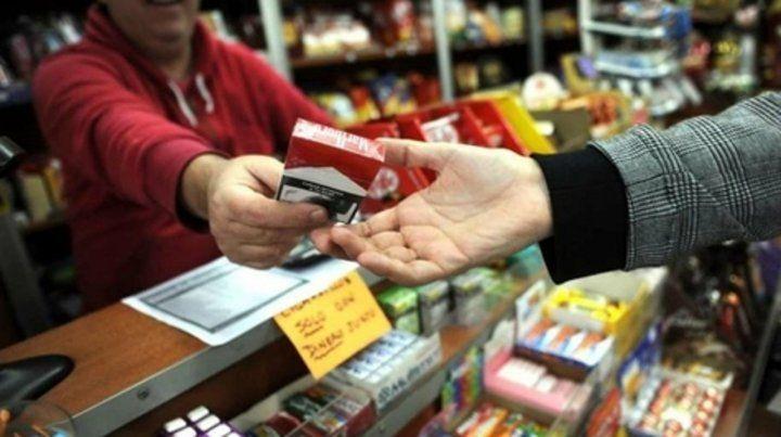 En punta. El incremento es para los cigarrillos de la firma Massalin.