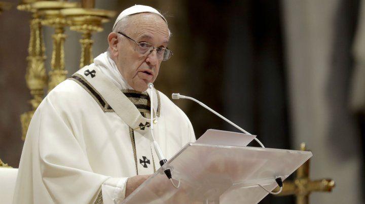 El Papa dijo que los abusos de curas a menores son una de las plagas de nuestro tiempo