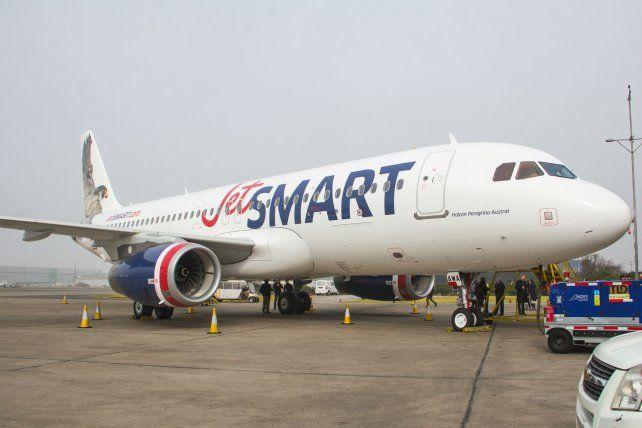 Autorizan a la low cost Jetsmart a volar desde Rosario