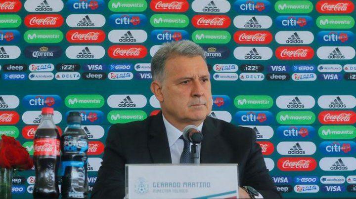 Martino fue presentado como entrenador de México