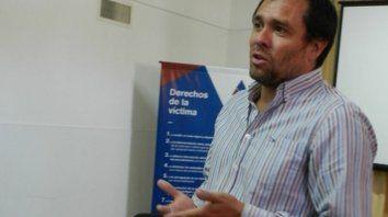 Investigador. El fiscal Horacio Puyrredón, a cargo del aberrante hecho.