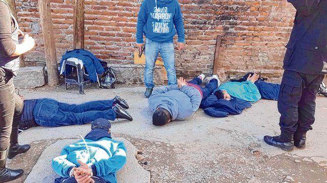Detenciones. Operativo en la provincia de Buenos Aires