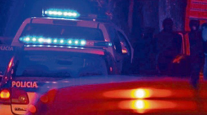 Ejecución. Un patrullero en Medrano al 2700